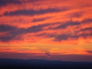 Jan. 17 sunset