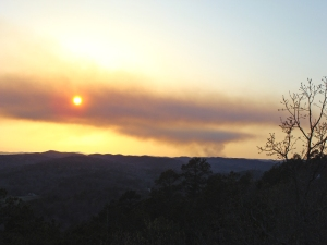 Prescribed burn in Perry County