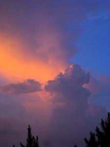 Sunset after a storm.