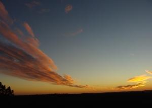 Jan. 1 sunset