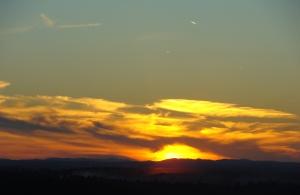 Jan. 2 sunset