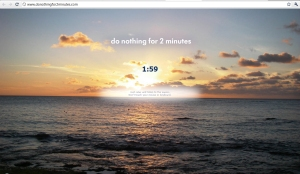 do nothing website.