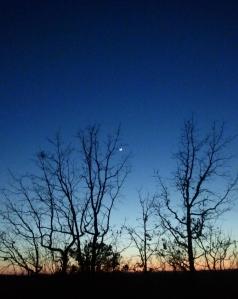 Jan. 6 sunset.