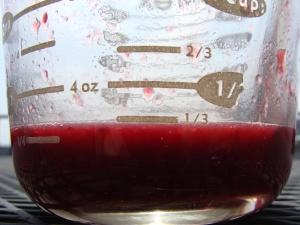 Measure of blood