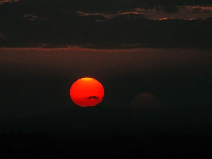 Dec. 2, 2012, sunset.