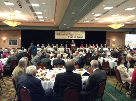 Ag hall of fame luncheon.