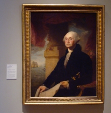 George Washington by John Gilbert Stuart
