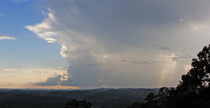 Cloud convecting.