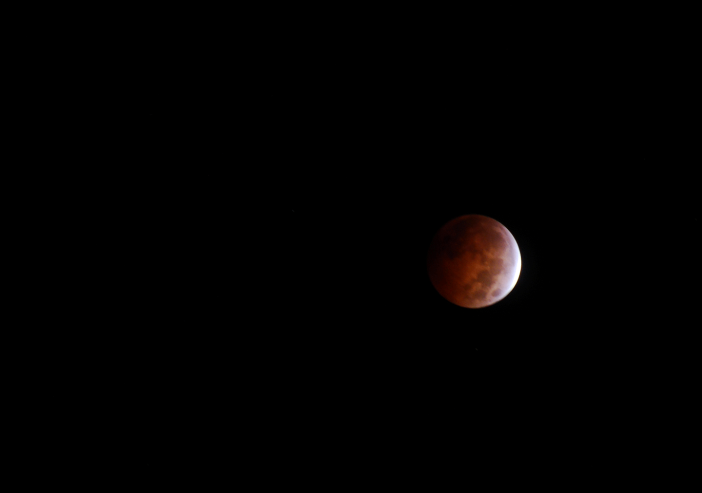 Lunar eclipse.