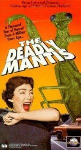 The deadly mantis poster.